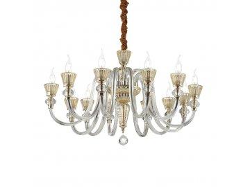 IDEAL LUX 140612 závěsný lustr Strauss SP12 12x40W E14