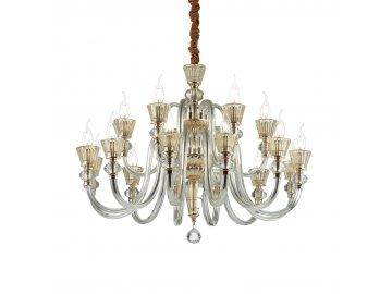 IDEAL LUX 140629 závěsný lustr Strauss SP18 18x40W E14