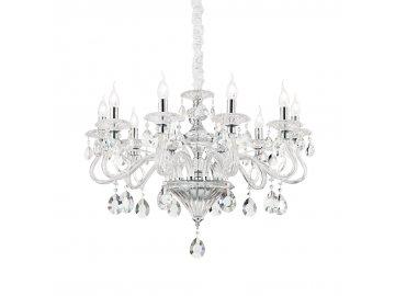 IDEAL LUX 141060 závěsný lustr Negresco SP10 10x40W E14