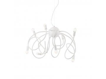 IDEAL LUX 141893 závěsný lustr Multiflex SP8 8x40W E14