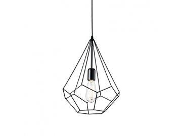IDEAL LUX 148175 závěsné svítidlo Ampolla 3 SP1 1x60W E27