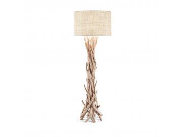 IDEAL LUX 148939 stojací lampa Driftwood PT1 1x60W E27