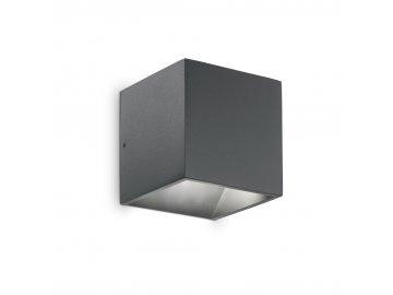 IDEAL LUX 149738 venkovní nástěnné LED svítidlo Rubik AP1 1x6W IP44 2700K