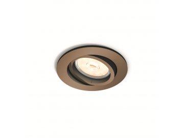 PHILIPS 50391/05/PN bodové podhledové LED svítidlo Donegal 1x5,5W GU10
