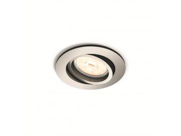 PHILIPS 50391/17/PN bodové podhledové LED svítidlo Donegal 1x5,5W GU10