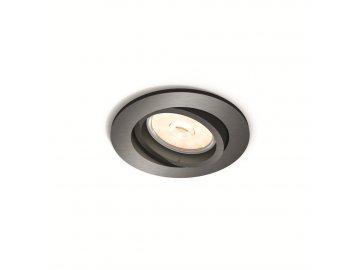 PHILIPS 50391/99/PN bodové podhledové LED svítidlo Donegal 1x5,5W GU10