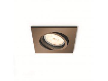 PHILIPS 50401/05/PN bodové podhledové LED svítidlo Donegal 1x5,5W GU10