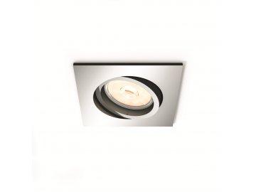 PHILIPS 50401/11/PN bodové podhledové LED svítidlo Donegal 1x5,5W GU10