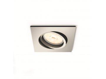 PHILIPS 50401/17/PN bodové podhledové LED svítidlo Donegal 1x5,5W GU10