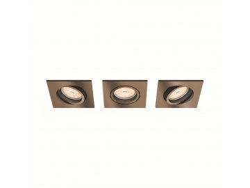 PHILIPS 50403/05/PN set 3ks bodovek Donegal 3x5,5W GU10