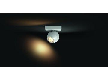 PHILIPS HUE 50471/31/P8 bodové LED svítidlo Buckram 1x3,5W 2200-6500K