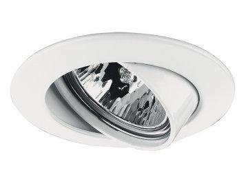 PAULMANN - Zápustné svítidlo Premium výklopné max.50W 12V GU5,3 51mm bílá, P 17953