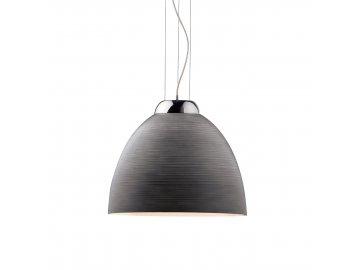 IDEAL LUX 001821 závěsné svítidlo Tolomeo SP1 D40 Grigio 1x100W E27