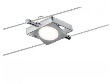Smart lankový spot MacLED 4W DC matný chrom s regulací bílé barvy světla - PAULMANN P 50112