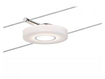 Smart lankový spot DiscLED I 4W DC satin s regulací bílé barvy světla - PAULMANN P 50113