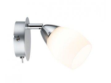 Spotové svítidlo LED 1x3W Wolba 230V, chrom matný - PAULMANN P 60264