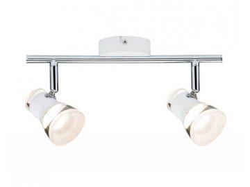 Spotové svítidlo Clear LED bílá/chrom vč.2x4,3W - PAULMANN P 66663