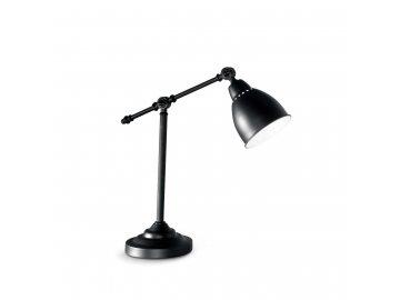 IDEAL LUX 003535 stolní lampa Newton TL1 Nero 1x60W E27
