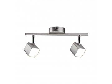 LED bodové svítidlo Cubik 2x4W kov kartáčovaný - PAULMANN P 66737