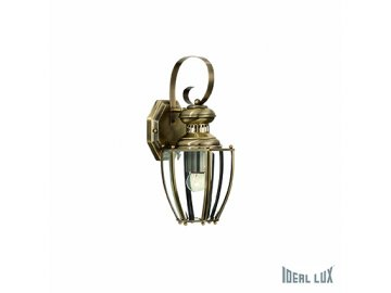 IDEAL LUX 004419 nástěnné svítidlo Norma AP1 Big Brunito 1x40W E14