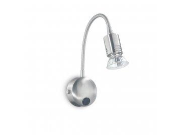 IDEAL LUX 006161 nástěnné svítidlo Flex AP1 Nickel 1x50W GU10