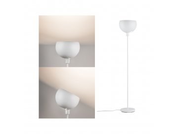 PAULMANN - Stojací svítidlo Gambia bílá mat, max. 60W E27, P 70928