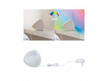 PAULMANN - BLE stolní lampa Cornus RGB+W 12W bílá, P 70931