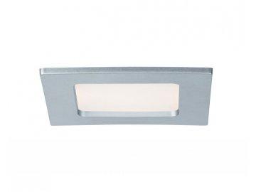 PAULMANN - Zápustný LED panel hranatý 6W 2700K matný chrom IP44, P 92079