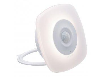 PAULMANN - Mobilní noční světlo Viby hranaté bílá pohybové čidlo, P 92491