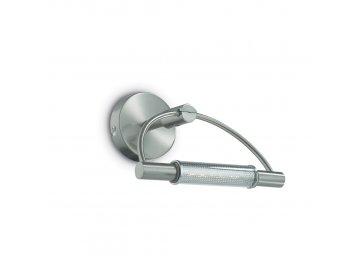 IDEAL LUX 008912 nástěnné svítidlo Arco AP1 Nickel 1x150W R7s