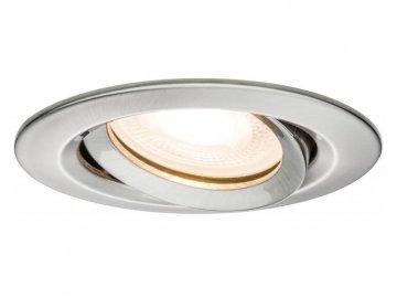 PAULMANN - Zápustné svítidlo Nova IP65 kulaté max. 35W železo 1ks výklopné, P 93662