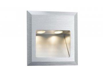 PAULMANN - Zápustné svítidlo do stěny Wall LED Quadro 2W 3VA 3000K, P 93753