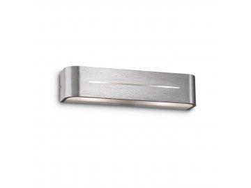IDEAL LUX 009940 nástěnné svítidlo Posta AP2 Alluminio 2x40W E14