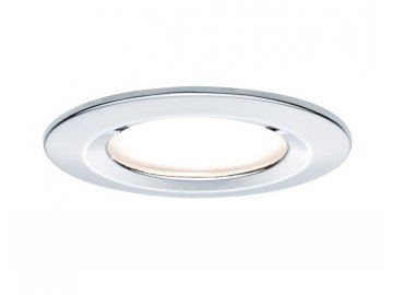 PAULMANN - Zápustné svítidlo LED Coin Slim IP44 kulaté 6,8W chrom 1ks, P 93861