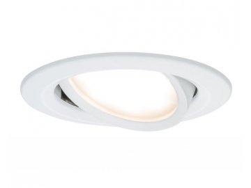 PAULMANN - Zápustné svítidlo LED Coin Slim IP23 kulaté 6,8W bílá 1ks stmívatelné, výklopné, P 93876