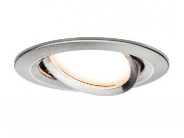 PAULMANN - Zápustné svítidlo LED Coin Slim IP23 kulaté 6,8W železo 1ks stmívatelné, výklopné, P 93877