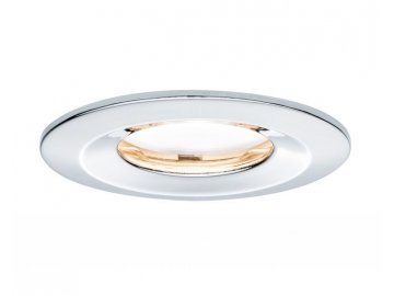 PAULMANN - Zápustné svítidlo LED Coin Slim IP65 kulaté 6,8W chrom 1ks stmívatelné, P 93883