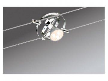 Lankový spot Cardan matný chrom max. 10W GU5,3 - PAULMANN P 94137