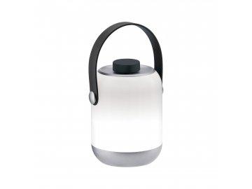 PAULMANN - Mobile stolní lampa Clutch IP44 matný chrom stmívatelné, na baterie, P 94210