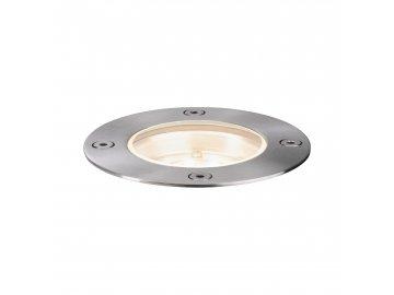 Plug & Shine zemní svítidlo kruhové IP65 3000K 4W 24V stříbrná - PAULMANN P 94228