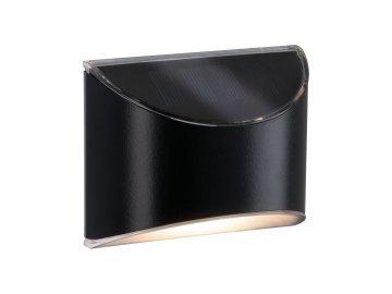 PAULMANN - Venkovní solární osvětlení cest Elliot 3000K kov/umělá hmota šedá