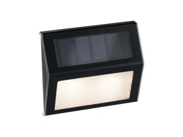 PAULMANN - Venkovní solární osvětlení cest Dayton 3000K kov/umělá hmota šedá