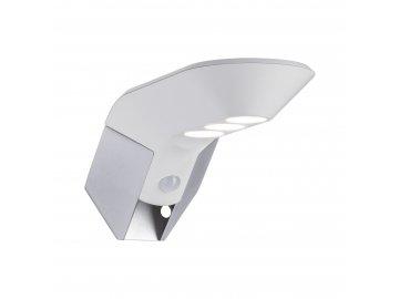 PAULMANN - Venkovní solární nástěnné svítidlo Soley 3000K bílá pohybové čidlo, P 94251
