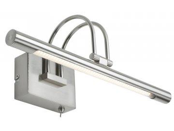 Galeria Remus LED36 svítidlo k obrazu 6W železo kartáčované 230V - PAULMANN P 99075