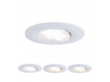 PAULMANN - Vestavné svítidlo LED Calla kruhové 1x5,5W bílá mat výklopné nastavitelná teplota barvy, P 99934