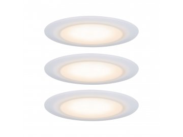 Premium vestavná svítidla sada LED Suon WarmDim 2000-2700K 3x6,5W 230 V saténové - PAULMANN P 99942