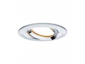 PAULMANN - Vestavné svítidlo LED Nova Plus kruhové 1x6,8W chrom výklopné stmívatelné