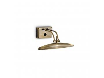 IDEAL LUX 017327 nástěnné svítidlo Mirror 20 AP2 Brunito 2x40W G9