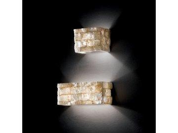 IDEAL LUX 018775 nástěnné svítidlo Carrara AP2 2x40W G9