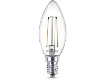 PHILIPS - FILAMENT Classic LEDcandle ND 2-25W E14 827 B35